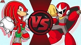 KNUCKLES vs PROTO MAN! (Sonic The Hedgehog vs Mega Man) CFC EP 193