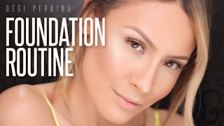 Full Coverage Foundation Routine - Desi Perkins