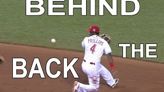 MLB: Behind-The-Back Plays