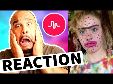 DON'T JUDGE ME CHALLENGE MUSICAL.LY [REACTION]