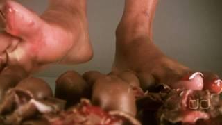 Darla TV - Foot Fetish Christmas: The Chocolate Covered Barefoot Cherry Crush