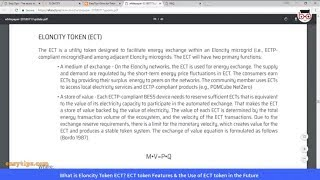 What is Eloncity Token ECT? ECT token Features & the Use of ECT token in the Future