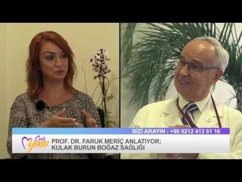 KBB Hastalıkları Uzmanı Prof. Dr. Faruk Meriç Röportajı - Çook Yaşa Programı