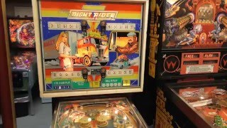 Dave's Pinball Collection (March 2016)