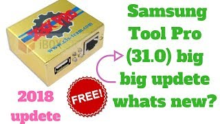 Samsung Tool PRO New Update 2018 Released Version 31.0..