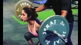 Ridhima Pandit Hot Workout In Gym