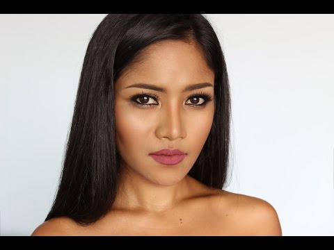Everyday Makeup Look for Tan Skin | Chila