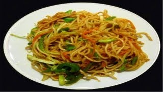 Schezwan Noodles Recipe Video- Noodles in Spicy Sauce by Bhavna
