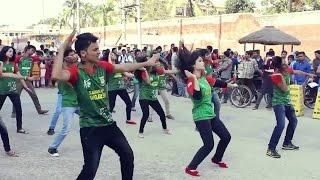 Rajshahi College Scout Dance .... চলো বাংলাদেশ ...