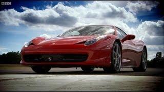 Ferrari 458 vs Ferrari 430 | Top Gear | BBC