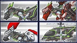 Dino Robot Deluxe: Ninja Velociraptor + Dino Robot Adventure | Eftsei Gaming
