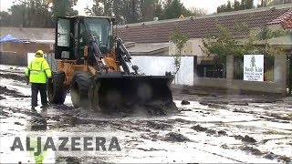 🇺🇸 California mudslides: At least 13 killed, thousands evacuated