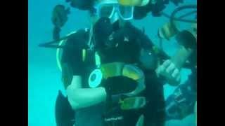 Gwen Garci goes Scuba Diving