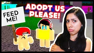 ADOPT AND RAISE A CUTE KID! - Roblox - NO ONE WANTS TO ADOPT US!