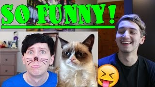some bloopers from Phil is not on fire 6 Reaction (PINOF 6 Bloopers)