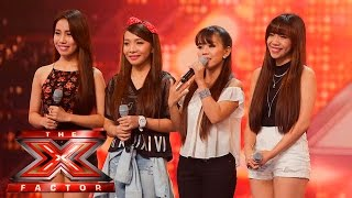 4th Power are absolute perfection | 6 Chair Challenge | The X Factor UK 2015