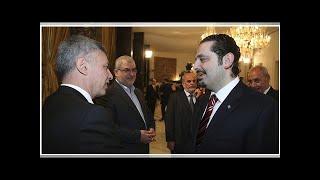 NEWS     Lebanese President Saad al-Hariri is next prime minister