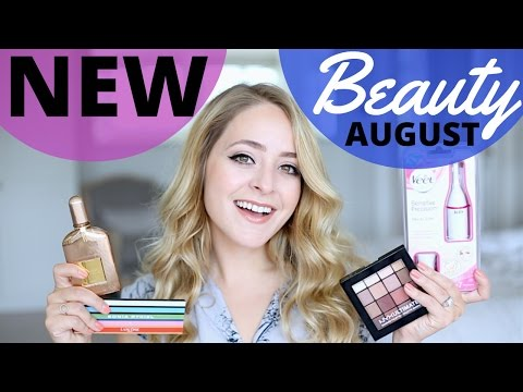 NEW BEAUTY PRODUCTS August 2016 ad