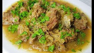 Dopiaza Recipe   دوپیازه یا داشی بسیار آسان