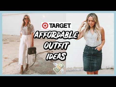 I WORE TARGET OUTFITS FOR A WEEK | TARGET SHOPPING CHALLENGE