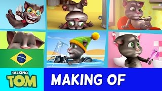 Meu Talking Tom - Bastidores Curtas 2