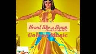 HEART LIKE A DRUM  (Classic Italo Mix)  HQ