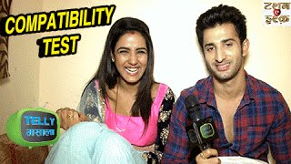 Interview: Twinkle And Kunj's Compatibility Test | Tashan-e-Ishq | Zee Tv