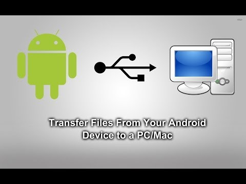 How To Transfer Files From Your Android Device To PC/Mac!
