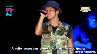 Bruno Mars  Talking To The Moon Live Hd Legendado Em Pt Br