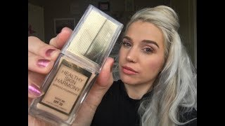 *NEW* MAX FACTOR 'Healthy Skin Harmony' Foundation First Impression & Review