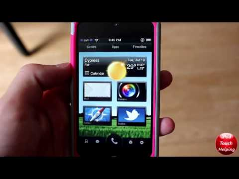 Boxor HD DreamBoard Theme Review for iPhone and iPod Touch Canon T2i