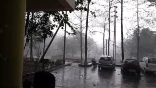 Thunderstorm at CET BHUBANESWAR