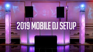 DJ GIG LOG: 2019 Mobile DJ Setup Tour | JBL SRX 828p | New DJ Gear (Mixer & Lights)