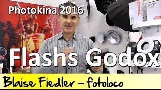 Flashs Godox:  TT600, TT685, V850 II et V860 II, AD360, Wistro 600