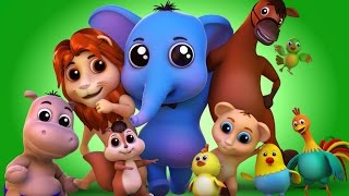Animal Sound Video for Kids | Farm Animal Nursery Rhymes & Songs for Babies