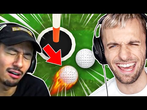 JE LE FAIS RAGER 🤣 Golf It ft. Locklear Doigby