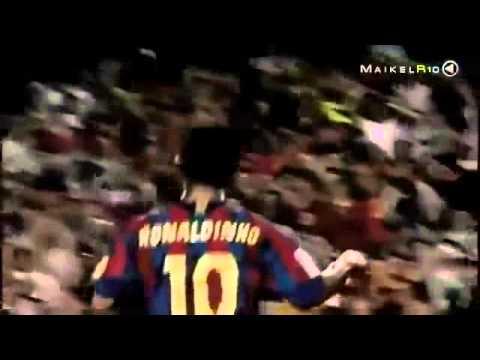 Ronaldinho humilla a Neymar