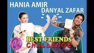 Best Friends Challenge with Danyal Zafar and Hania Amir |Momina