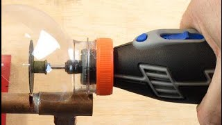How to make a mini Safety Protective Cover DREMEL