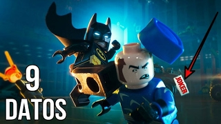 """9 Curiosidades sobre Lego Batman """"La Pelicula"""""""