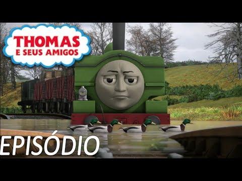 Thomas e Seus Amigos Duck Dentro D água