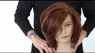 Medium Length Haircutting Class With Guest Artist Tom Harris - FreeSalonEducation.com