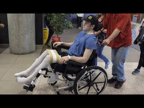 Humboldt crash survivor determined to walk again