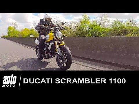 Ducati Scrambler 1100 ESSAI POV Auto Moto