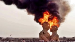 Watch $265k  Burning Man 2014 Embrace Burn