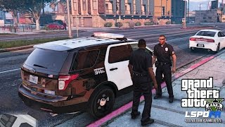 GTA 5 PC MODS - LSPDFR - POLICE SIMULATOR - EP 19 (NO COMMENTARY) CITY PATROL