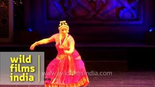 Indian classical dance by Russian artist Irina Iskorostenskaia