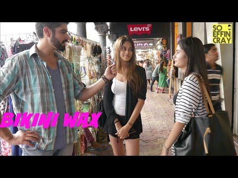 Mumbai Girls On Waxing Weird Body Parts BIKINI WAX Funny Video