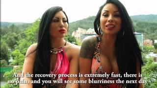 Bruna Twins Permanently Changed Their Eye Color / Brightocular