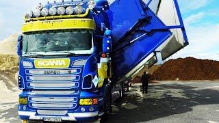 Scania Wood Chip Truck, Sweden